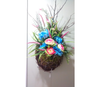 Silk Grapevine Wall Hanger in Athens GA, Flower & Gift Basket