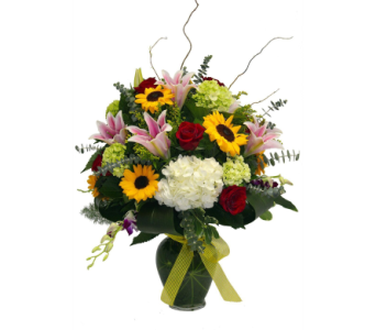 Countryside Meadow Bouquet in Jacksonville FL, Kuhn Flowers