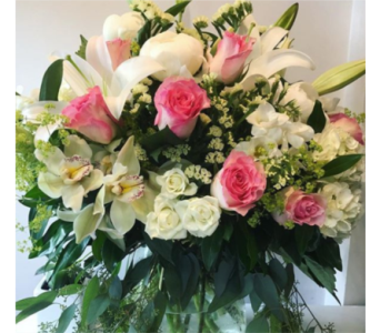Hand Tied Bouquet in Vancouver BC, Gardenia Florist