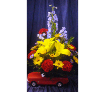 Father's Day Sepcial - Ford Mustang in Honolulu HI, Sweet Leilani Flower Shop