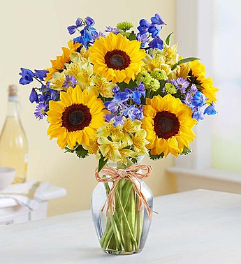 Fields of Europe Summer by 1-800-Flowers.com in Las Vegas NV, A French Bouquet