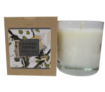 Creative Co-Op� Flair Candle - Cracked Peper in Moorhead MN, Country Greenery