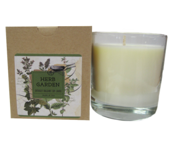 Creative Co-Op� Flair Candle - Herb Garden in Moorhead MN, Country Greenery
