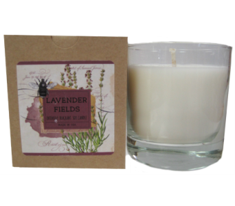 Creative Co-Op� Flair Candle - Lavender Fields in Moorhead MN, Country Greenery
