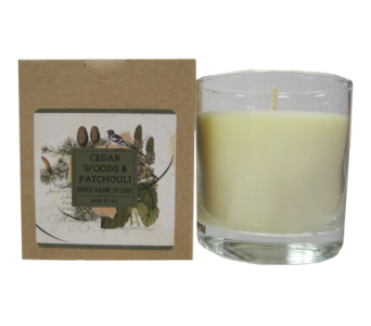 Creative Co-Op� Flair Candle - Cedar Woods in Moorhead MN, Country Greenery