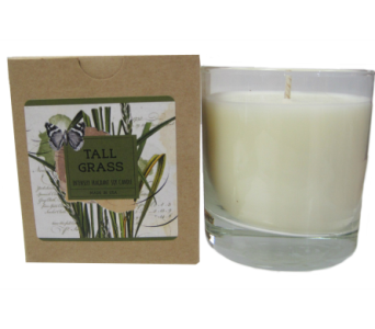 Creative Co-Op� Flair Candle - Tall Grass in Moorhead MN, Country Greenery