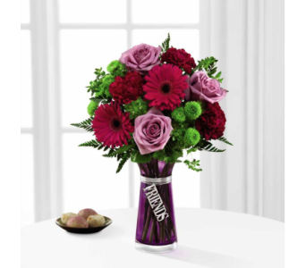 Friends Bouquet in Noblesville IN, Adrienes Flowers & Gifts