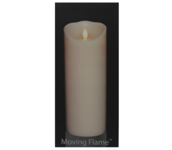 Liown� Flameless Candle Tall in Moorhead MN, Country Greenery