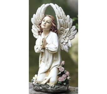 Winged Angel in Prayer in Warren MI, Downing's Flowers & Gifts Inc.