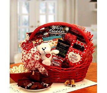 Flowers my sugar free valentine basket from american florist same my sugar free valentine basket in bound brook nj americas florist gifts negle Choice Image