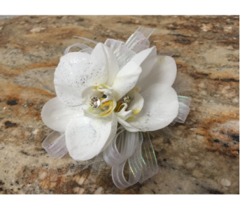 Elegant Orchid Corsage in Arcata CA, Country Living Florist & Fine Gifts