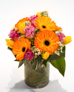 Gerbera's Glory in New York NY, Starbright Floral Design