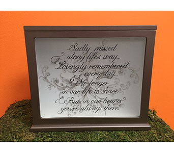 Light Box in Brownsburg IN, Queen Anne's Lace Flowers & Gifts