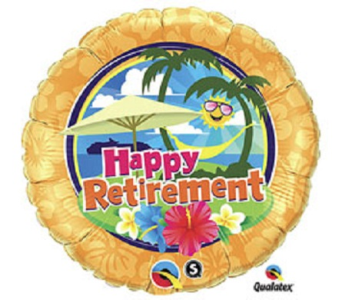 Happy Retirement in Jacksonville FL, Hagan Florists & Gifts