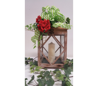 Rustic Wooden Lantern in Owensboro KY, Welborn's Floral Company