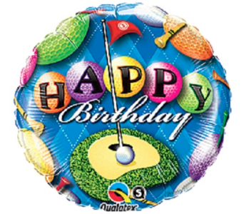 Happy Birthday-Golf in Jacksonville FL, Hagan Florists & Gifts