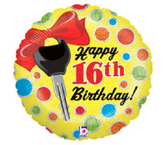 Happy 16th-Key in Jacksonville FL, Hagan Florists & Gifts