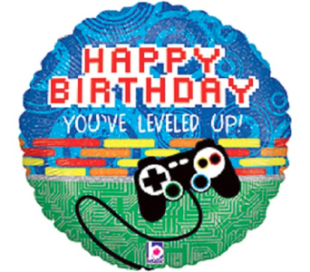 Happy Birthday-Gamer in Jacksonville FL, Hagan Florists & Gifts