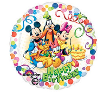 Happy Birthday-Mickey & Friends in Jacksonville FL, Hagan Florists & Gifts
