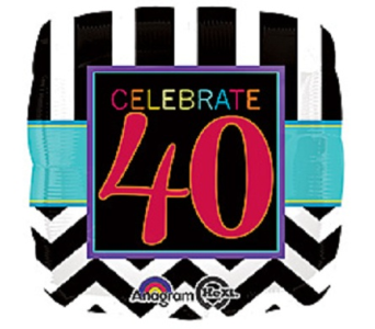 Celebrate 40 in Jacksonville FL, Hagan Florists & Gifts