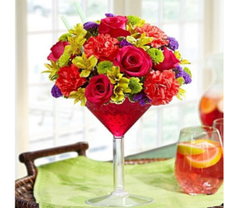 Sangria Bouquet in Mountain View CA, Oakbrook Florist
