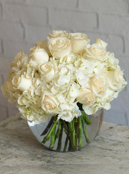 Blushing Ivory in Smithtown NY, James Cress Florist