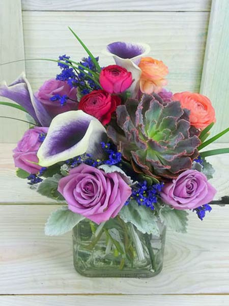Royal Hues in Raleigh NC, Bedford Blooms & Gifts