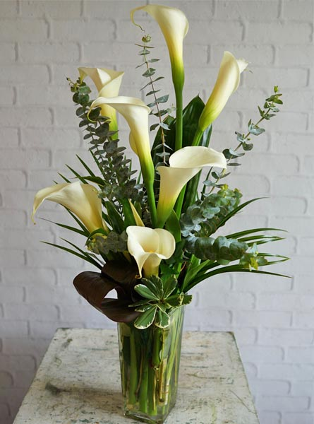 Callas Calling in Raleigh NC, Bedford Blooms & Gifts