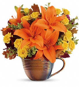 Teleflora's Fall Mystique Bouquet in Baton Rouge LA, Hunt's Flowers