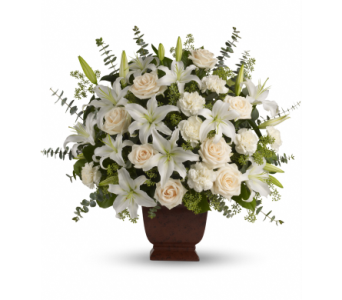 Teleflora's Loving Lilies and Roses Bouquet - by V in Bowmanville ON, Van Belle Floral Shoppes