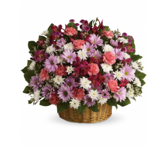Rainbow Reflections Basket - by Van Belle Floral S in Bowmanville ON, Van Belle Floral Shoppes