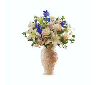 Loving Blooms� Lenox� Blue & White in Palm Coast FL, Garden Of Eden