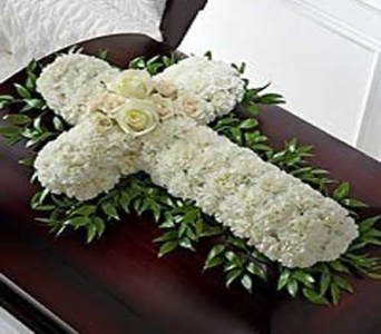 Casket Cross in Bellevue WA, CITY FLOWERS, INC.