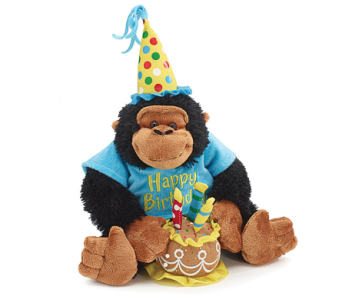 HBD Music Monkey by 1-800-balloons