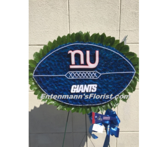 Giants Football in Jersey City NJ, Entenmann's Florist