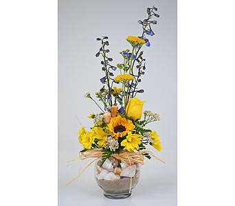 Ocean Sunshine in Indianapolis IN, Gillespie Florists