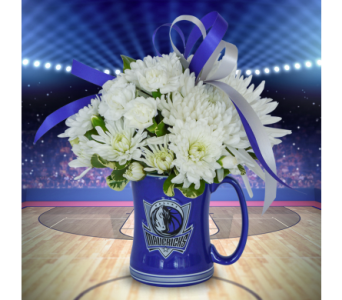 Three Pointer Mug in Dallas TX, In Bloom Flowers, Gifts and More