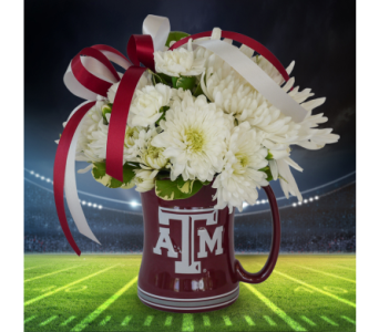 Gig 'Em Mug in Dallas TX, In Bloom Flowers, Gifts and More