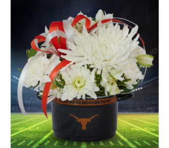 Hook 'Em Bowl in Dallas TX, In Bloom Flowers, Gifts and More