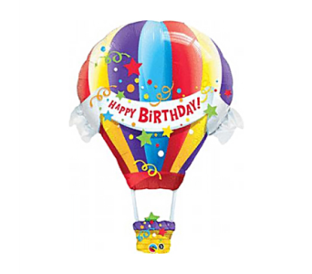 Hot Air Balloon Birthday in Birmingham AL, Norton's Florist