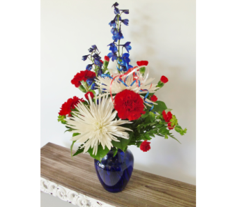Patriotic & Proud in Nashville TN, Flowers By Louis Hody
