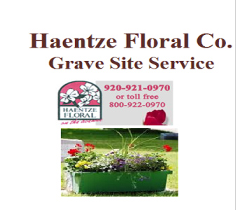 Cemetery Planters in Fond Du Lac WI, Haentze Floral Co