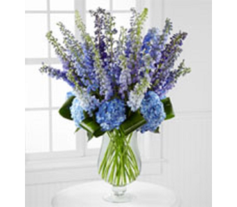 Luxury Delphinium Bouquet in Fairfax VA, Rose Florist