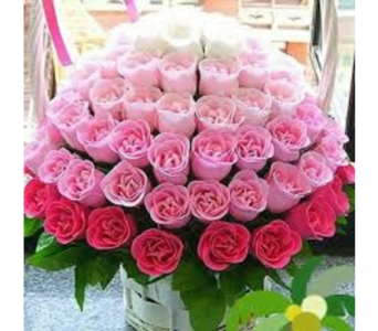Shades of Pink in Fairfax VA, Rose Florist