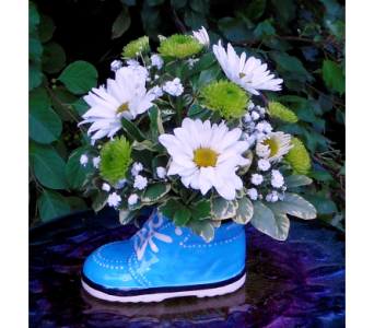 Baby Boy Sneaker in Skowhegan ME, Boynton's Greenhouses, Inc.