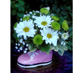 Baby Girl Sneaker in Skowhegan ME, Boynton's Greenhouses, Inc.