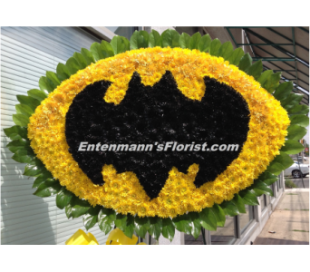 Batman Logo in Jersey City NJ, Entenmann's Florist