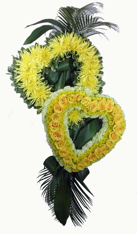 Together Forever Hearts in Arlington Heights IL, Sylvia's - Amlings Flowers