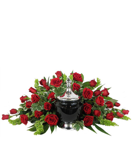 Signature Collection Cremation Piece in Arlington Heights IL, Sylvia's - Amlings Flowers