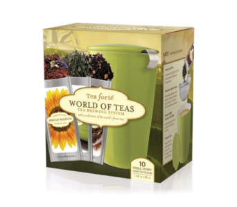 World of Teas with Cup & Infuser in El Paso TX, Debbie's Bloomers